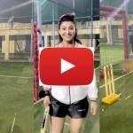Video जब उर्वशी रौतेला ने खेला क्रिकेट, तुक्के से लगा सिक्स, रिएक्शन देखिए