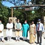 झाझरा वन रेंज परिसर में उत्तराखण्ड सिटी फॉरेस्ट 'आनन्द वन' का लोकार्पण, नवरात्रि के पहले दिन से आम जनता के लिए खुलेगा
