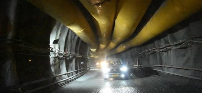 देखिए ऋषिकेश-कर्णप्रयाग रेल परियोजना की सुरंग की तस्वीरें, मुख्यमंत्री ने लिया जायजा