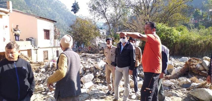 Uttarakhand केन्द्र सरकार की एक टीम आपदा प्रभावित इलाकों का दौरा कर रही है, नुकसान का किया जा रहा आकलन