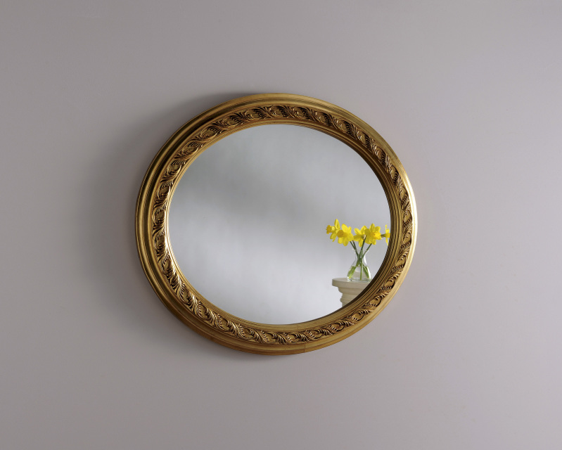 Oval Mirrors Ireland For Sale Silver, White And Gold