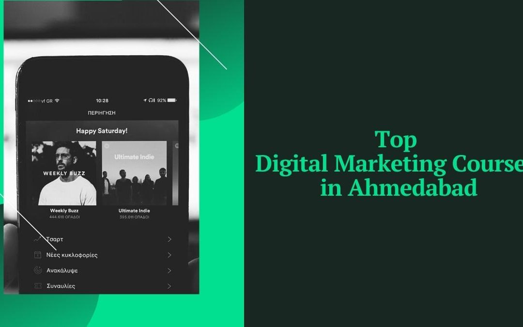 Top Digital Marketing Courses in Ahmedabad