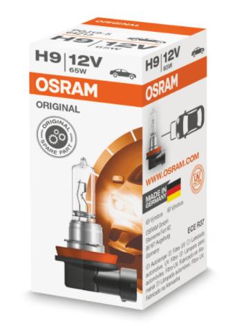 Лампа OSRAM Original Line H9 12V 65W 1шт. 64213