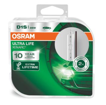 Лампа ксеноновая OSRAM Xenarc Ultra Life D1S 85V 35W 2шт. 66140ULT-HCB