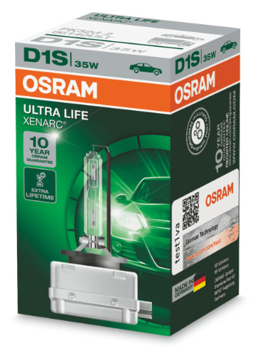 Лампа ксеноновая OSRAM Xenarc Ultra Life D2S 85V 35W 1шт. 66240ULT