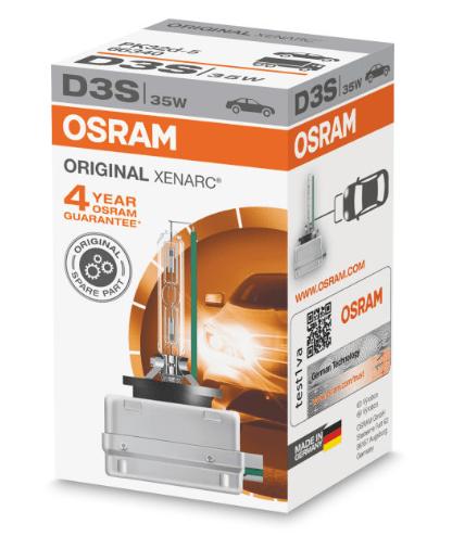 Лампа ксеноновая OSRAM Xenarc Original D3S 42V 35W 1шт. 66340
