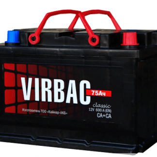 Аккумулятор VIRBAC 75Ач 600А