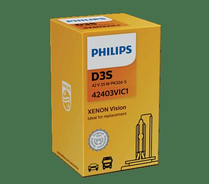 Лампа ксеноновая PHILIPS Xenon HID D3S 85V 35W 1шт. 42403VIC1
