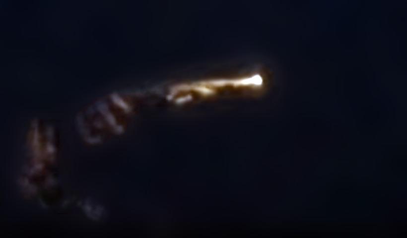 Найдено объяснение для видео с «крушением НЛО» в Шотландии