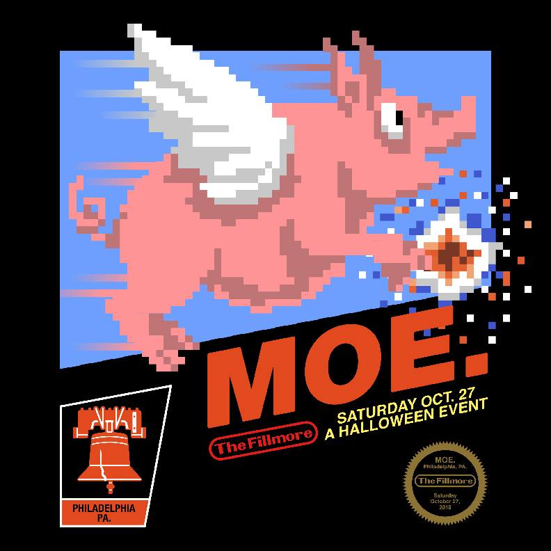 """moe. To Play """"A Night At The Arcade"""" Halloween Show"""