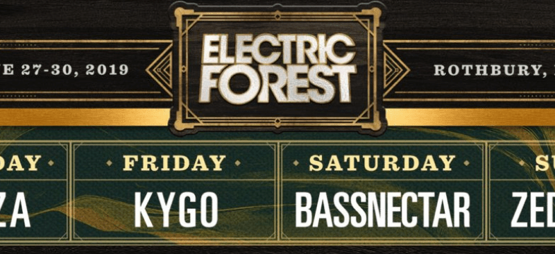 Electric Forest Shares 2019 Lineup