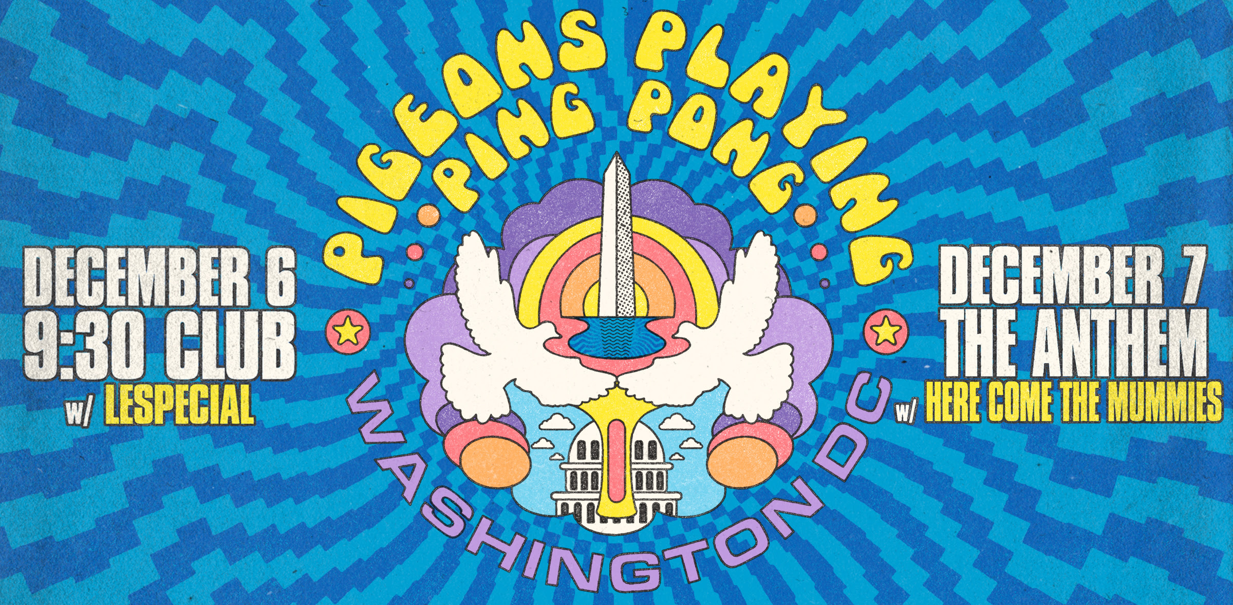 """Pigeons Playing Ping Pong Announces Two-Night """"Hometown Throwdown"""""""