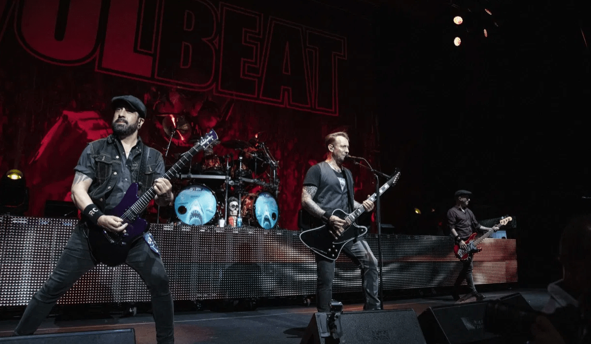 Volbeat Stops Concert During First Song in Ireland