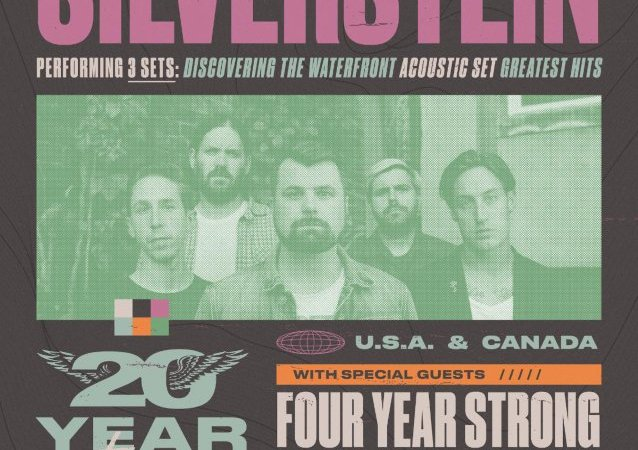 Silverstein To Perform Three Sets On Massive 20th Anniversary Tour