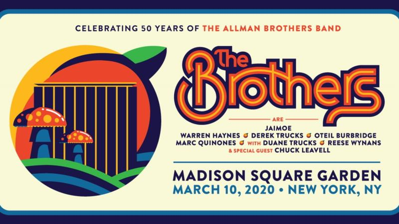 The Brothers Set To Celebrate the Allman Brothers Band 50th Anniversary at Madison Square Garden in March