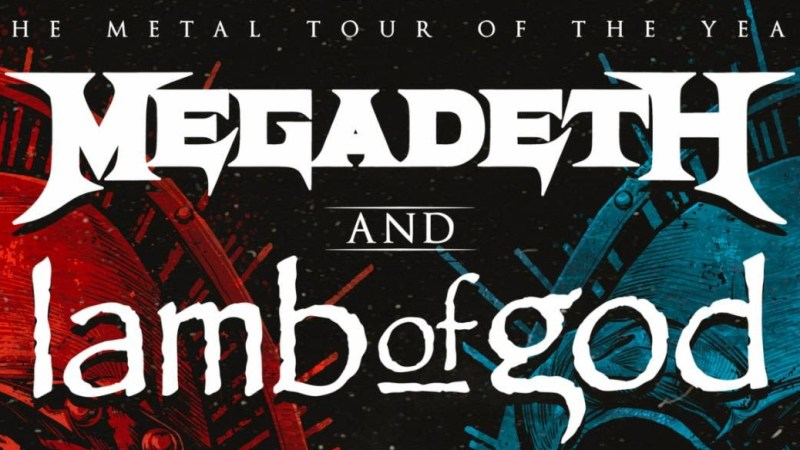 Megadeth & Lamb of God Announce Extensive 2020 Tour with Special Guests