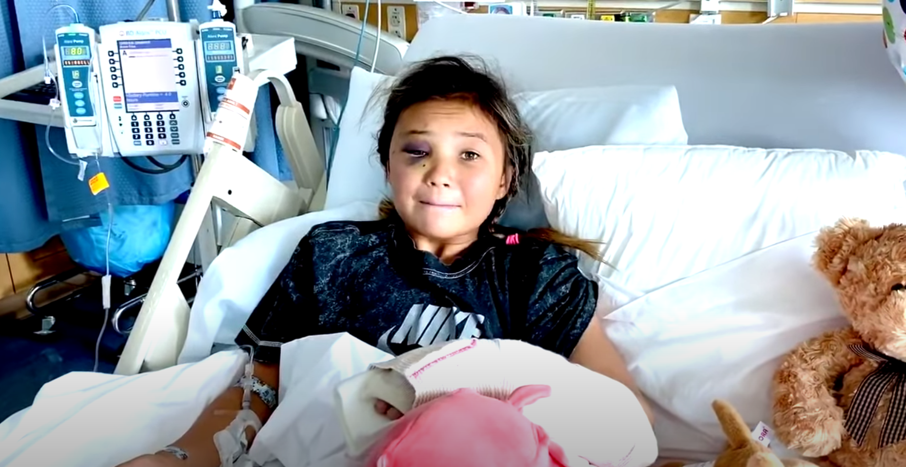 11 Year Old Skateboarder Sky Brown Hospitalized from Punishing Slam