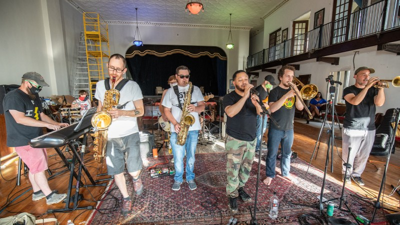 VIDEO: Victory Soul Orchestra Perform at Lark Hall in Albany, NY | Window Sessions #4