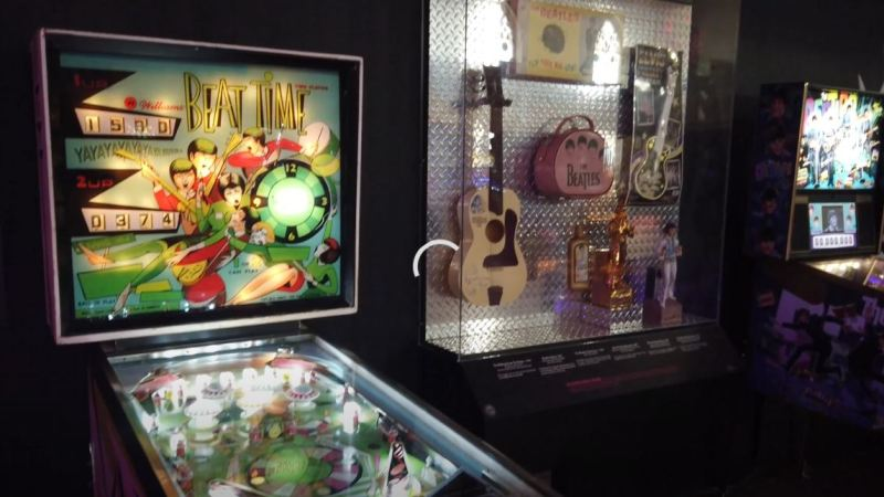 VIDEO: Rock and Roll Pinball at Universal Preservation Hall