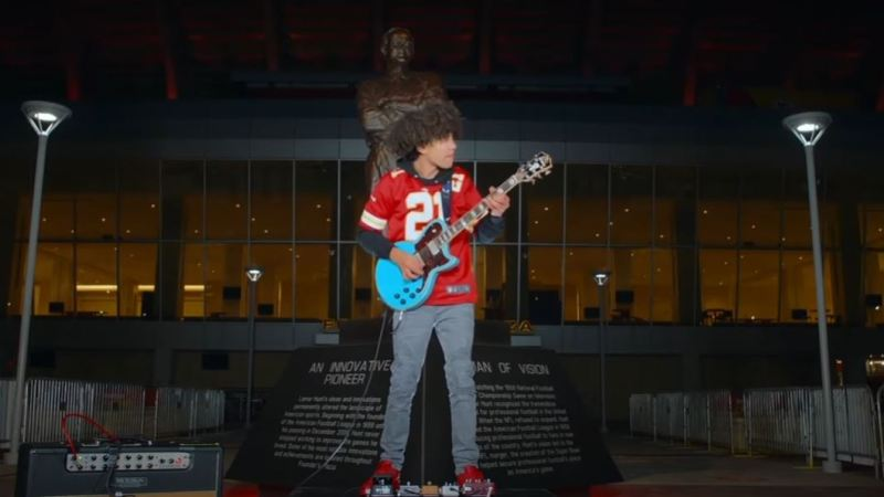 "Brandon ""Taz"" Niederauer Performs National Anthem at AFC Championship Game"