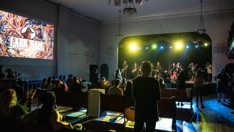 "Victory Soul Orchestra Brings the ""Life of the Party"" to Lark Hall For the Venue's First Concert Open to the Public"