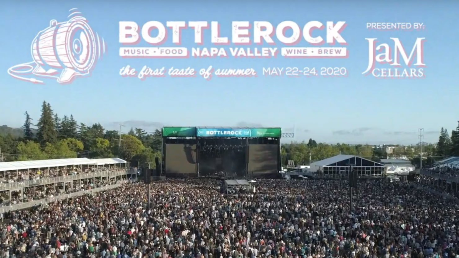 Napa Valley's BottleRock Festival Set To Go On Sale May 20th