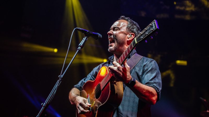 GALLERY: Dave Matthews Band Wraps Up Two Nights In Saratoga Springs, NY