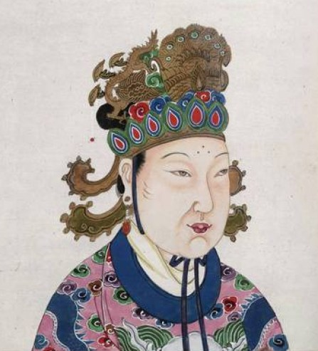 Empress Wu Zetian - The only woman to rule China in her own right.