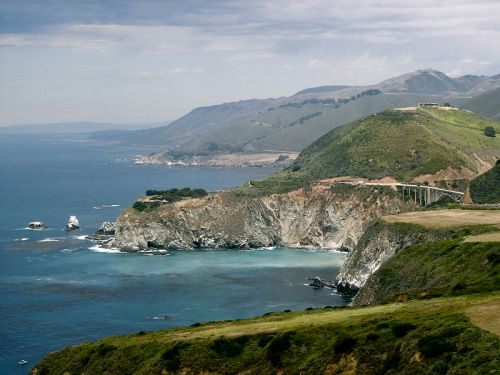 Weekly Writing Challenge: Mapping A Journey Of Love... Big Sur