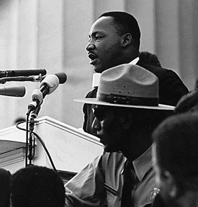 Dr. Martin Luther King & President Obama: Faith In The Dream... Giving the dream speech