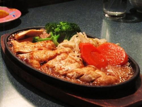 Weekly Photo Challenge: Lunchtime. Teriyaki chicken and veggies