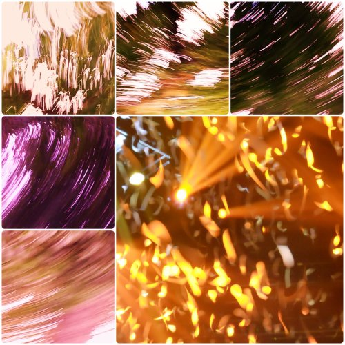 Weekly Photo Challenge: Abstract holiday lights dancing