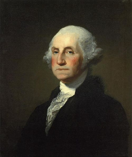 First US President George Washington