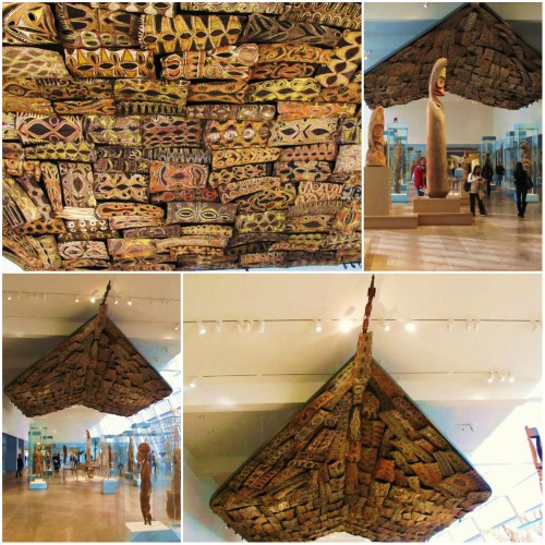 Weekly Photo Challenge: Perspective - Kwoma Ceiling, New Guinea