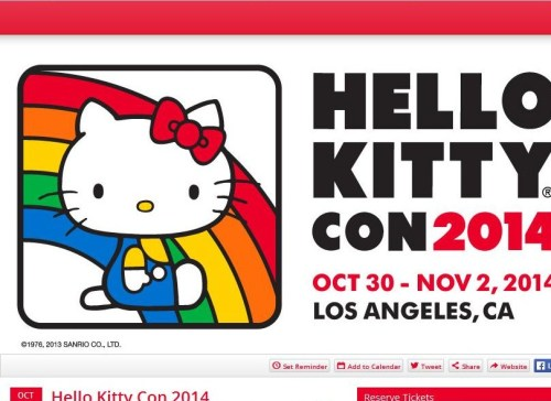 Hello Kitty 1st USA Convention