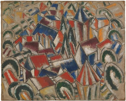 CUBISM: The Exhibition At The Met Museum - The Village Fernand Léger 1914