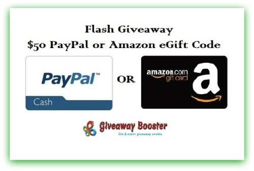 Enter: The Weekend $50 Flash Giveaway!