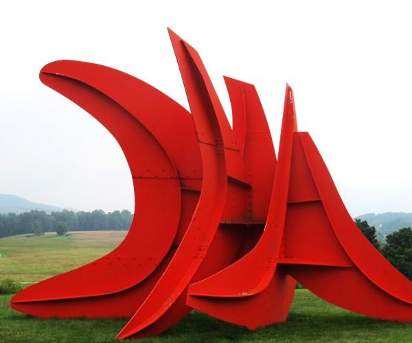 Weekly Photo Challenge: Angular - Five Swords Installation by Alexander Calder at Storm King