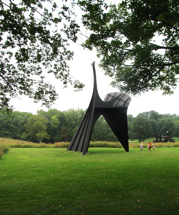 Weekly Photo Challenge: Angular - The Arch Installation by Alexander Calder at Storm King
