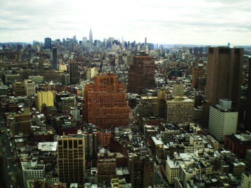 Weekly Photo Challenge: Descent... to Manhattan, New York