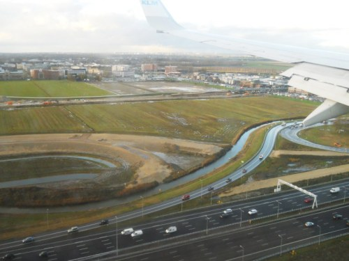 Weekly Photo Challenge: Descent...  to Schiphol Amsterdam Airport