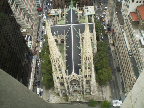 Weekly Photo Challenge: Descent... to St Patrick's Cathedral, New York