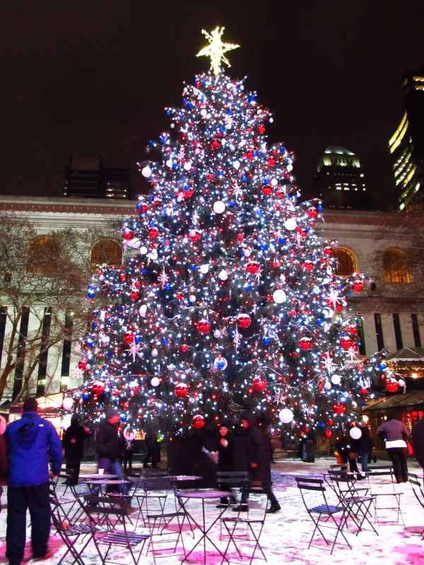 Weekly Photo Challenge: Twinkle - Bryant Park Tree