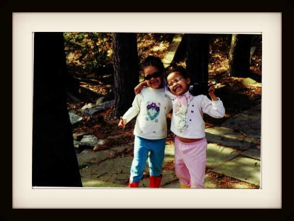 Weekly Photo Challenge: Express Yourself! Our kids rocking out at 3 years old