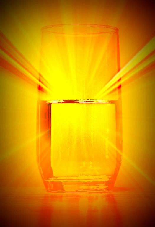 Motivation Mondays: ATTITUDE - Is the Glass Half Full or Half Empty?