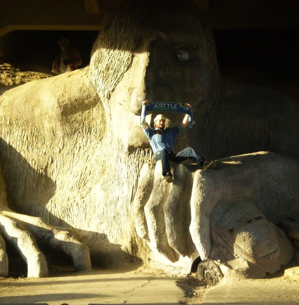 Weekly Photo Challenge:   - The Under-bridge Troll in Seattle, WA