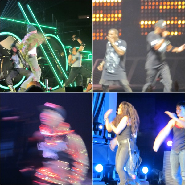 Weekly Photo Challenge: BLUR - Concert Shots