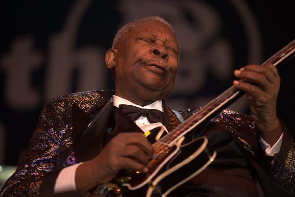 Weekly Photo Challenge: ENVELOPED WITH LOVE - RIP B.B.King