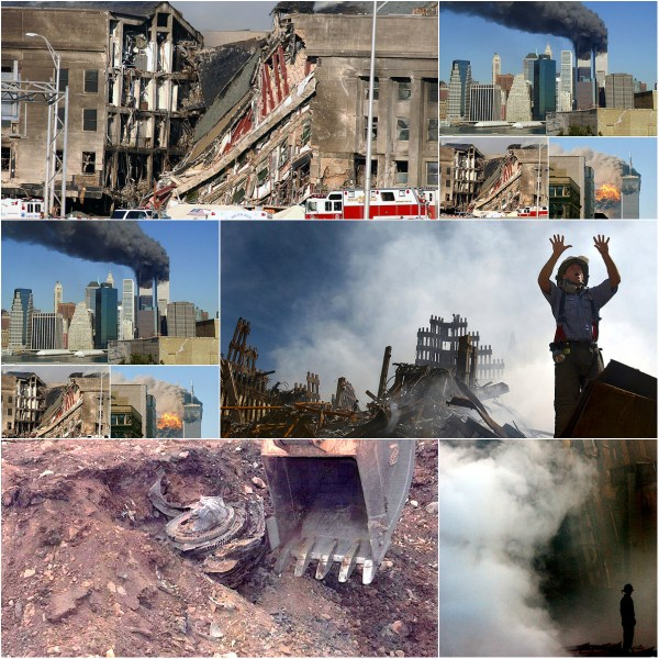 September 11 Photo Collage: - Remembrance: In memory of all who lost their lives on this tragic day! RIP