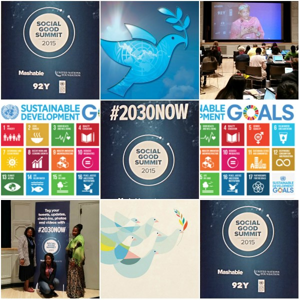 Social Good Summit: Tackling New Goals, Power & Technology #2030NOW